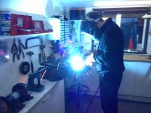 Major welding